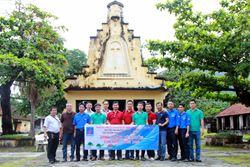 Chi bộ và Đoàn Thanh niên Chi nhánh Nhơn Trạch tổ chức hành trình về nguồn tại Côn Đảo năm 2018