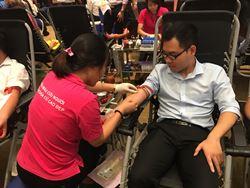 Tuổi trẻ PV Power Services hưởng ứng Chương trình hiến máu tình nguyện năm 2017