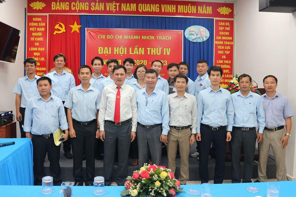 Chi bộ Nhơn trạch tổ chức đại hội điểm nhiệm kỳ 2020-2023